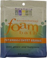 Aura Cacia Patchouli and Orange Foam Bath