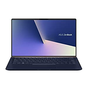 ASUS ZenBook 13 UX333FN-A4115T 13.3-inch FHD Thin and Light Laptop (8th Gen Intel Core i5-8265U/8GB RAM/512GB PCIe SSD/Windows 10/MX150 2GB Graphics/1.19 Kg), Royal Blue Metal