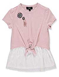 Amy Byer Big Girls' Top - Pink, 10-12