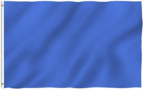 Navy Blue Car Flag - 1
