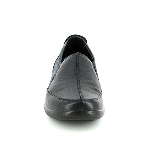 Marine Bleu Slip Chaussures on Femme Padders Flute W7AqT7B