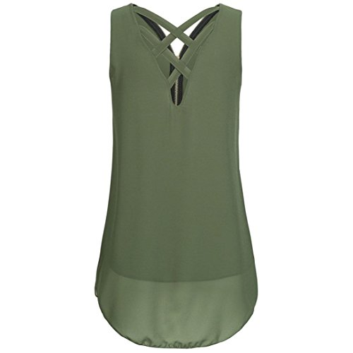 Wintialy Women Tunic Tank Top T-Shirt Loose Basic Sleeveless Tee Shirt Blouse