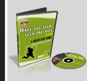 credence clearwater revival have you ever seen the rain guitar lesson dvd 2 hour. Black Bedroom Furniture Sets. Home Design Ideas