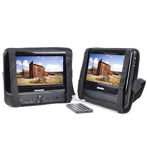 Sylvania SDVD8706 7 Dual-screen Portable DVD Player by Sylvania