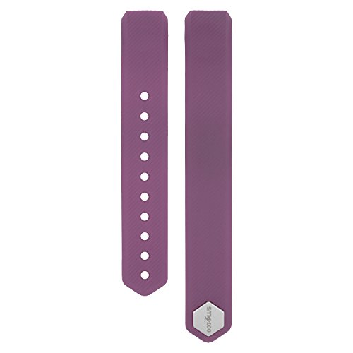 Replace Band for 007plus D115 Fitness Tracker,Replacement Sport Wristband (Plum)
