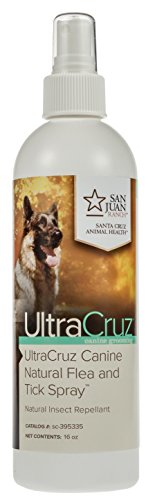 UltraCruz Canine Natural Flea and Tick Spray for Dogs, 16 oz. by UltraCruz