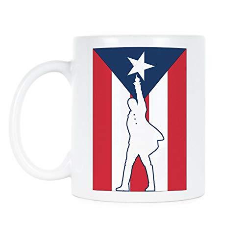 Hamilton Puerto Rico Mug Immigrants We Get The Job Done (Hamilton Immigrants We Get The Job Done)