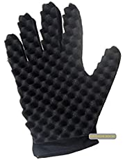 KITCHEN TOOLS Curling Sponge Glove for Hair - Curl Glove Sponge for Hair - Twist Brush Glove for Curly Hair Styling Care (Right hand)