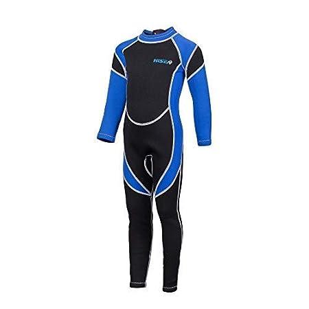 for Scuba Diving Surfing Fishing Kayaking Swimming Jellyfish Repelling 2.5 mm Neoprene Full Body Wetsuit for Kids