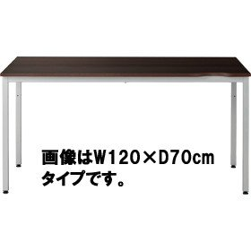 パソコンテーブルCL-126Hウォールナット柄W1200×D600mmタイプ 415968 B003CF6ESM