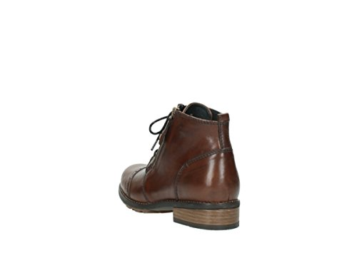 Wolky MILLSTREAM 243 cognac leather