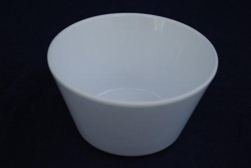 Z-Moments Western Melamine 302 8-ounce Bouillon Cup, 3 7/8 inch -- 96 per case, White (8 dozen) NSF