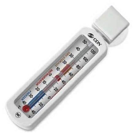 CDN ProAccurate para frigoríficos economía/termómetro para nevera ...