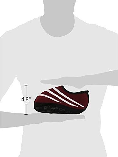 Slipper Womens Black Medium Crimson Nu Nufoot Sporty Indoor Shoes ZqS0Xtw