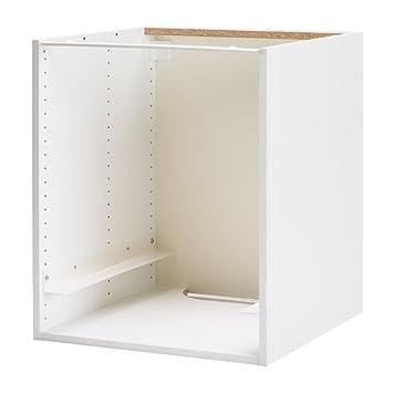 Amazon De Ikea Faktum Kabinett Fur Einbau Backofen Herd Weiss