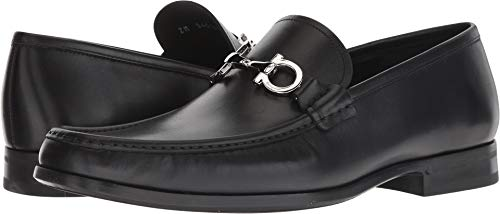 - Salvatore Ferragamo Men's Chris Loafer Black 8.5 EE US