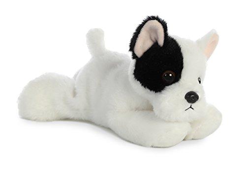 (Aurora 31745 World French Bulldog Pup Plush Toy, Black/White)