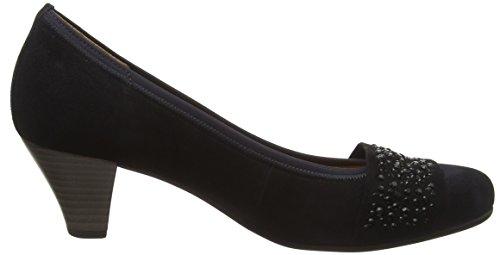 pazifik Steine Gabor para Tacón Shoes Mujer de Zapatos Gabor Basic Azul USxnP