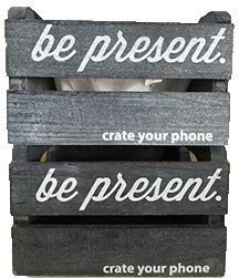 crate your phone (2 - Rustic Grey Crates