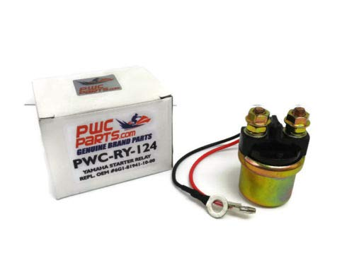 YAMAHA Starter Relay 12V PWC-RY-124 MANY Outboard Motors//Waverunners 1987-2001 Replaces OEM 6G1-81941-10-00