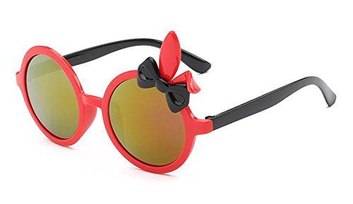 polarisées vintage inspirées cercle en retro Rouge lunettes Cadre qXw1xOw67