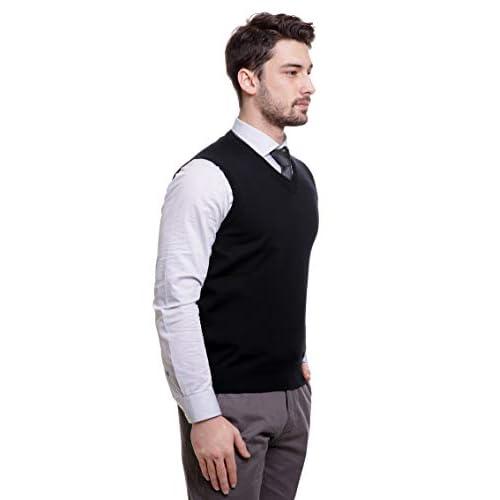 31u26BDV6cL. SS500  - BASE 41 Men's Sleeveless Sweater