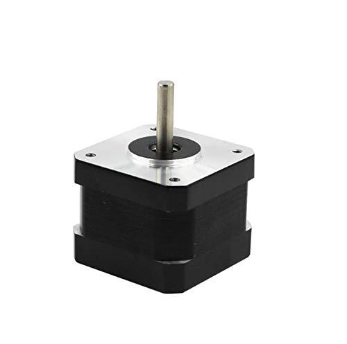Jillier 1PC 17HS3401S 4-Lead Nema 17 Stepper Motor 42 Motor 42BYGH 1.3A CE ROSH ISO CNC and 3D Printer