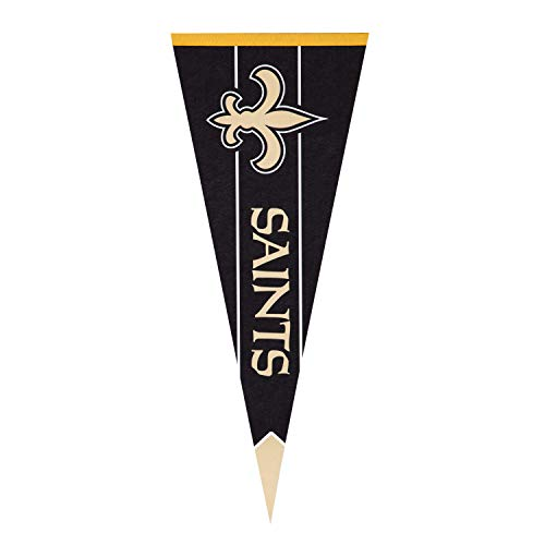 Team Sports America NFL New Orleans Saints Pennant Flag - 30