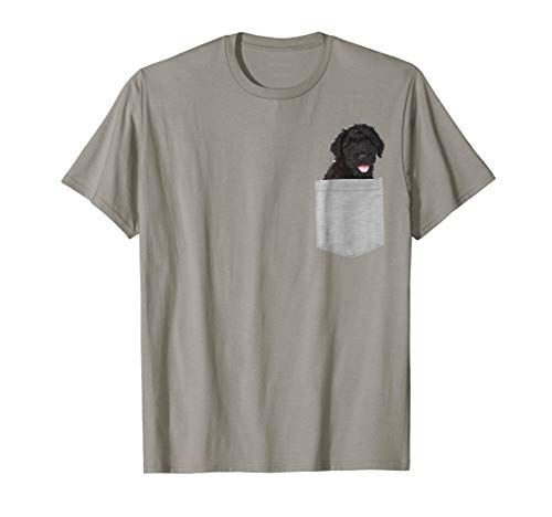 Dog in Your Pocket Black Russian Terrier t shirt shirt
