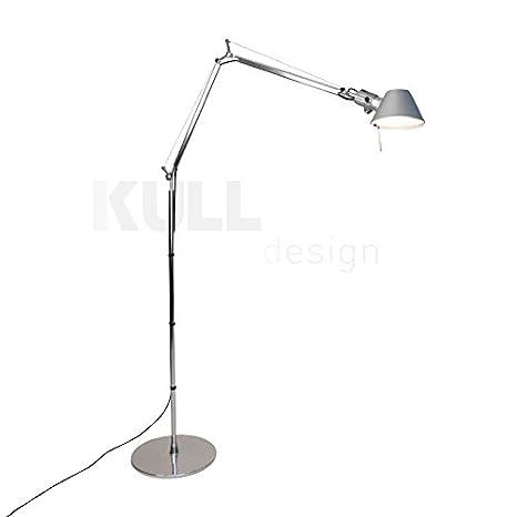 Lámpara de pie Tolomeo Style Plateada: Amazon.es: Iluminación