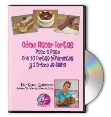 Como Hacer Tortas Paso a Paso - Completo Video Curso: 10 recetas de tortas y