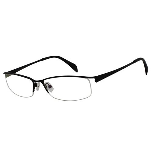 EyeBuyExpress Shield Black Reading Glasses Magnification Strength 2.75