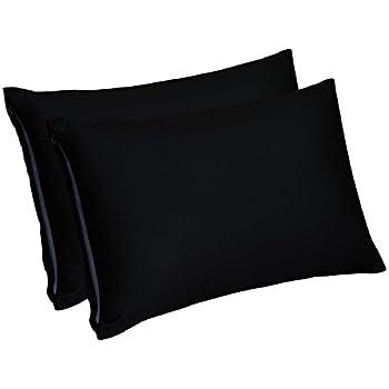 Amazon Com Utopia Bedding Zippered Bamboo Pillow Cases