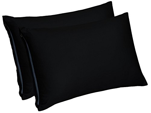 Zippered Bamboo Pillow Cases Encasement