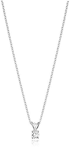 Round Cut Diamond Pendant Necklace Clarity product image
