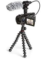 Sony FDR-AX53 Creator Kit, 4K Ultra HD Handycam, met Microfoon en Joby GorillaPod, Zwart