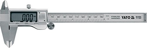 YT-7201 Yato professional digital caliper stainless steel scale mm//inch