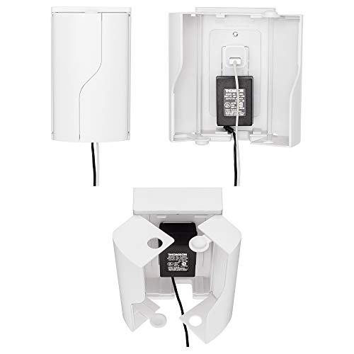 Safety Innovations Twin Door Outlet Box