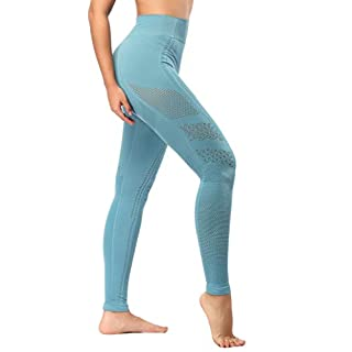 SEKERMAET Yoga Leggings High Waist, Gym Workout Tights Athletic Pants Running for Women Compression
