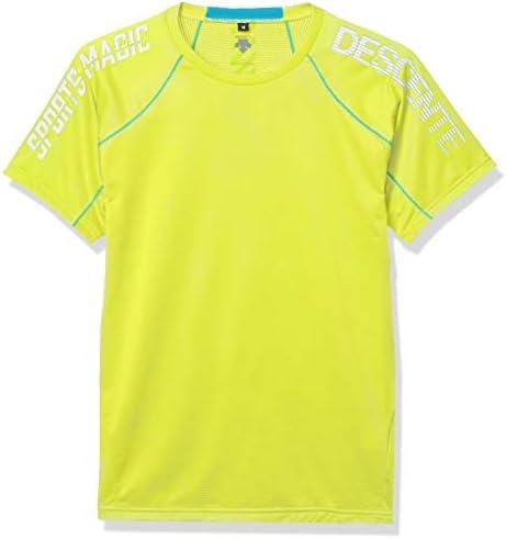 [デサント] ブリーズプラス 半袖Tシャツ 高通気 吸汗速乾 再帰反射 DRMPJA58 メンズ