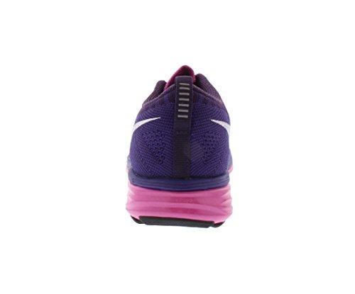 nike s Flyknit lunar2 funcionamiento formadores 620658 601 zapatillas de deporte de los zapatos club pink white court grand purple