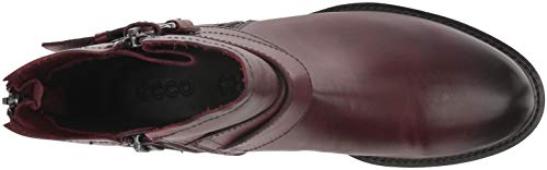 1070 Bordeaux Femme 25 Marron Ecco Botines Shape XqUxZ4Y