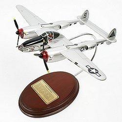 Mastercraft Collection P-38J Lightning Wooden Model
