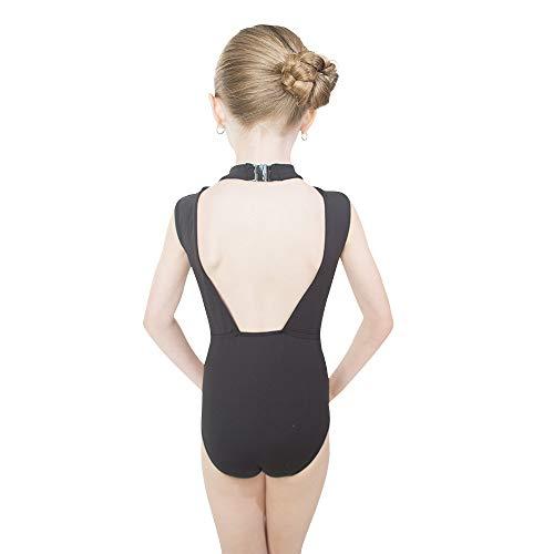 d1d0a3e22c4f Jual HDW DANCE Kids Girls Ballet Dance Leotard Lace Turtle Neck Open ...