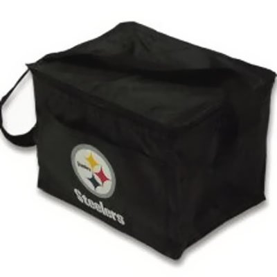 Pittsburgh Steelers Lunch Bag Cooler / Picnic Tote