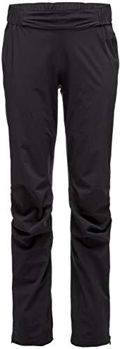 Black Diamond Stormline Stretch Rain Shell Pant - Women's Black Small