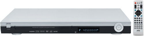 JWIN JDVD518 2.1-Channel Progressive Scan DVD Player with HDMI