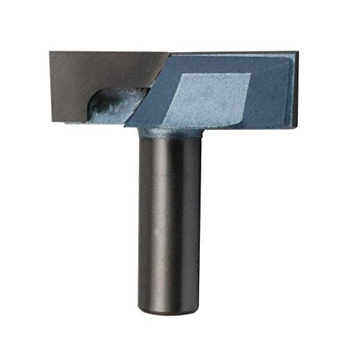 Flute Double 0.5 Shank - Nxtop 1/2-Inch Shank 2-Inch Cutting Dia Double Flute Carbide Tipped Cleaning Bottom Router Bit Cutter