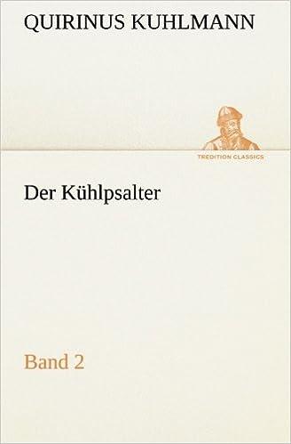 Der Kühlpsalter: Band 2