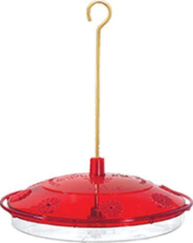 Droll Yankees n/aa H82 8 Port Hummingbird Feeder Nectar Guard, Red Double Hummingbird Red Feeder